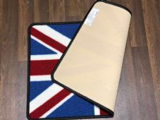 NO SLIP 50x80CM RED/WHITE/BLUE NEW WASHABLE DOORMAT QUALITY UNION JACK